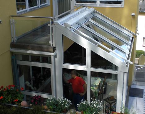 Gut gemocht Metallbau Weyand - Wintergärten EH85